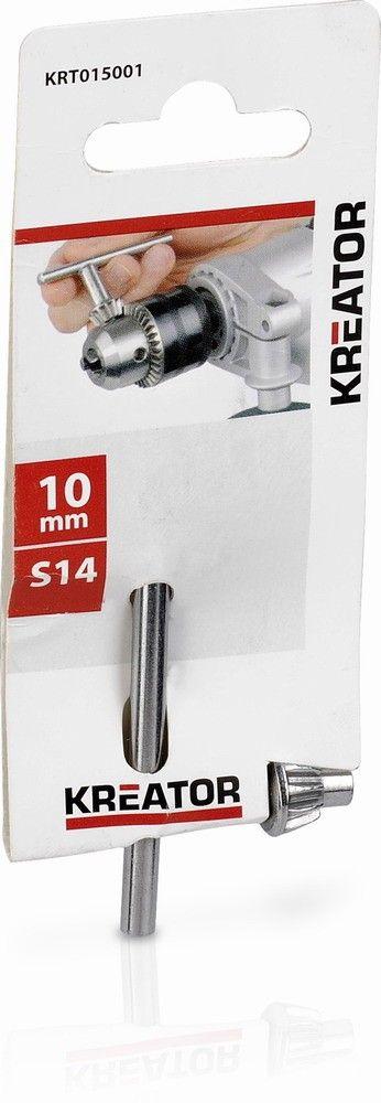 KRT015001 - Klíč zubový ke sklíčidlu 10 mm KREATOR *HOBY 0Kg KRT015001