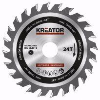 KRT020401 - Pilový kotouč na dřevo 89mm, 24T KREATOR