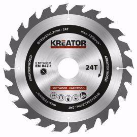 KRT020414 - Pilový kotouč na dřevo 185mm, 24T KREATOR
