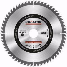 KRT020423 - Pilový kotouč na dřevo 216mm, 48T KREATOR
