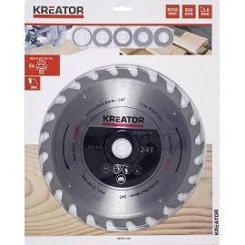 KRT021300 - Pilový kotouč na dřevo 250 mm, 24 Z KREATOR