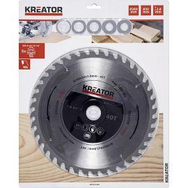 KRT021400 - Pilový kotouč na dřevo 260 mm, 40 Z KREATOR