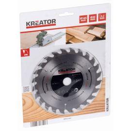 KRT021600 Pilový kotouč na dřevo 165 mm, 24 Z KREATOR