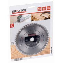 KRT021601 Pilový kotouč na dřevo 165 mm, 48 Z KREATOR