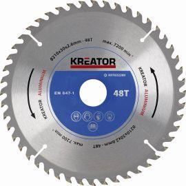 KRT022200 - Pilový kotouč na hliník 210 mm, 48 Z KREATOR