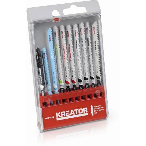 KRT041090 - 10 ks Pilových plátků kombinované užití KREATOR