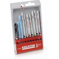 KRT045090 - 10 ks BD Pilových plátků kombinované užití KREATOR