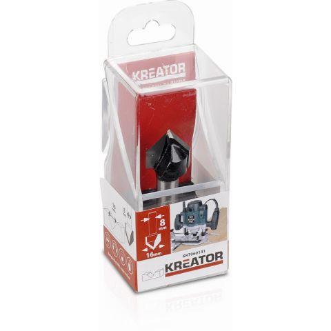 KRT060141 - Fréza na drážky do lišty D16 mm KREATOR
