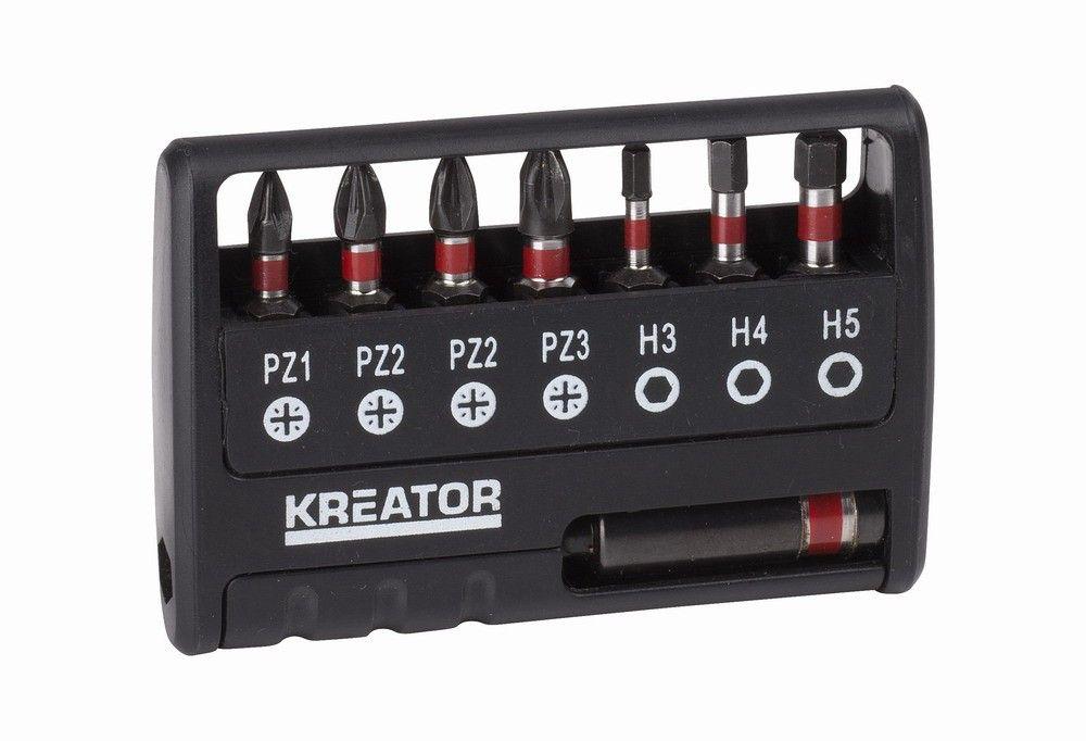 KRT064263 Sada rázových bitů 8 ks PZ/H KREATOR Nářadí-Sklad 1 | 0