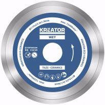 KRT080200  Diamantový kotouč celoobvodový 115mm 3ks sada KREATOR