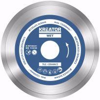 KRT080201  Diamantový kotouč celoobvodový 125mm 3ks sada KREATOR