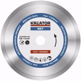KRT081100  Diamantový kotouč celoobvodový 89mm PREMIUM KREATOR