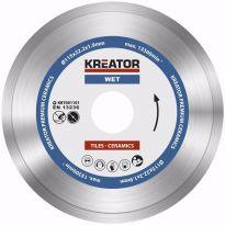 KRT081101  Diamantový kotouč celoobvodový 115mm PREMIUM KREATOR