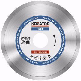 KRT081102  Diamantový kotouč celoobvodový 125mm PREMIUM KREATOR