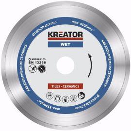 KRT081103  Diamantový kotouč celoobvodový 180mm PREMIUM KREATOR