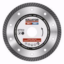 KRT085101 - Diamantový kotouč celoobvodový 125mm EXPERT TURBO KREATOR