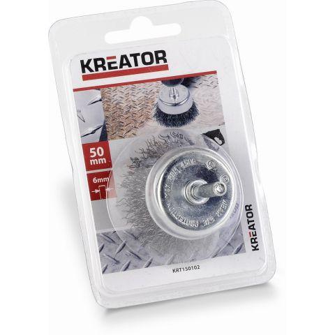 KRT150102 - Ocleový kartáč na vrtačky 50mm KREATOR