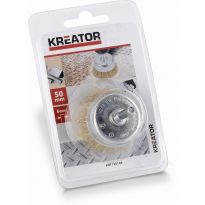 KRT150104 - Brusný měděný kartáč 50mm KREATOR