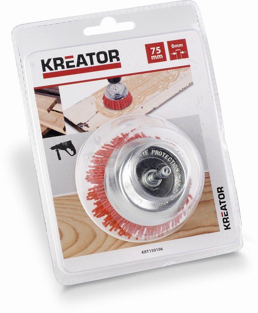 KRT150106 - Brusný nylonový kartáč 75mm KREATOR Nářadí-Sklad 1 | 0