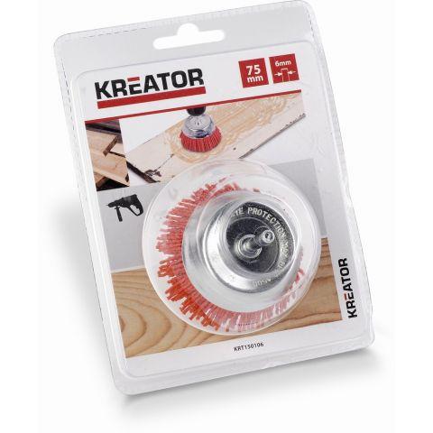 KRT150106 - Brusný nylonový kartáč 75mm KREATOR