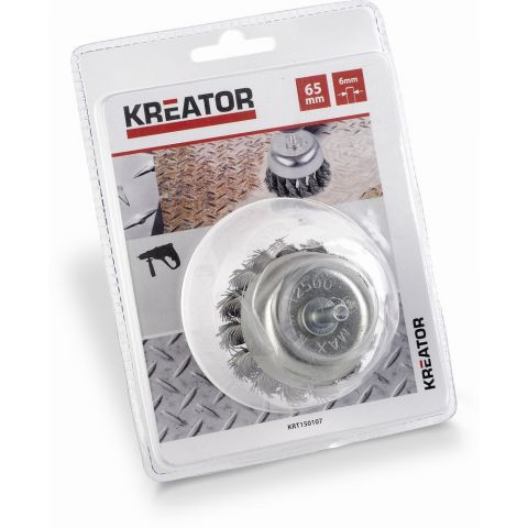 KRT150107 - Brusný copánkový kartáč 65mm KREATOR