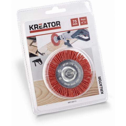 KRT150111 - Brusný nylonový kartáč 75mm KREATOR