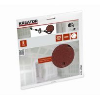 KRT232004 - 5ks Brusný kotouč 225 mm G60 KREATOR