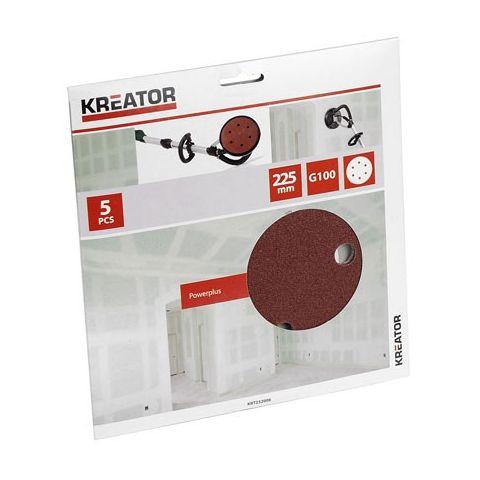 KRT232006 5ks Brusný kotouč 225mm G100 KREATOR