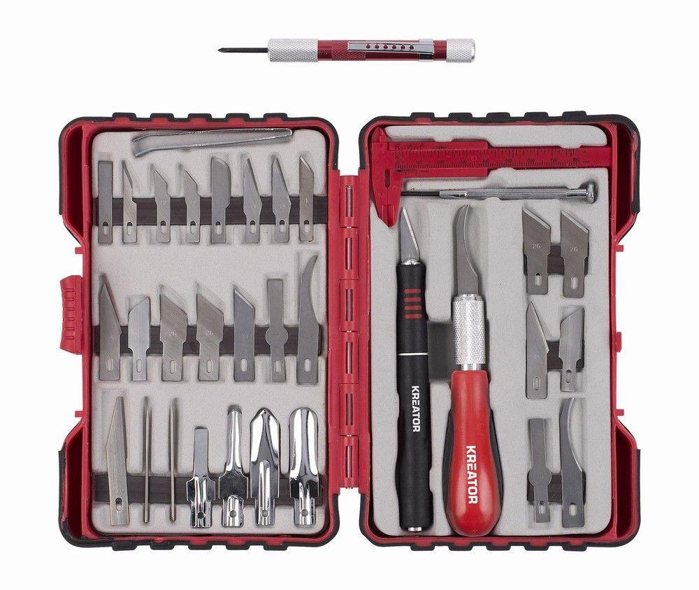KRT452002 - Modelářské nožíky sada 36ks KREATOR Nářadí-Sklad 1 | 0