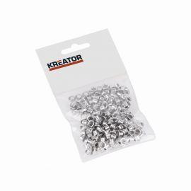 KRT616103 - Kroužky hliník 4mm 100ks KREATOR