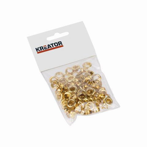 KRT616105 - Kroužky mosaz 7mm 100ks KREATOR