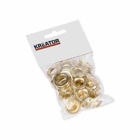KRT616110 - Kroužky mosaz 12,5mm 25ks KREATOR