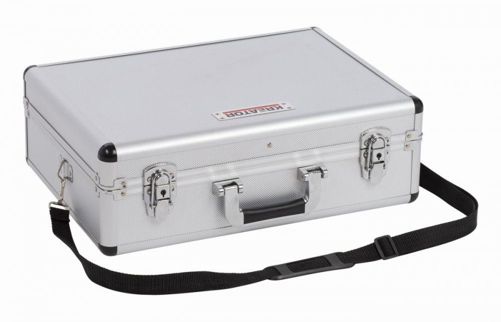 KRT640102S Hliníkový kufr 460x330x155mm stříbrný KREATOR Nářadí-Sklad 1 | 0