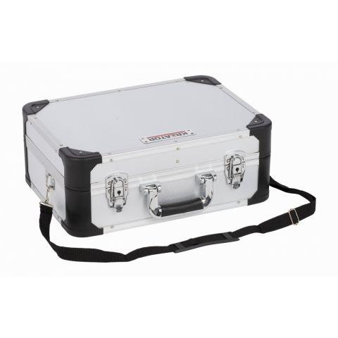 KRT640104S Hliníkový kufr 433x313x163mm stříbrný KREATOR