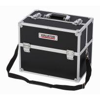 KRT640301B Hliníkový kufr 360x230x300mm černý KREATOR