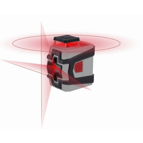 KRT706230T1 - Křížový laser 360° se stativem KREATOR