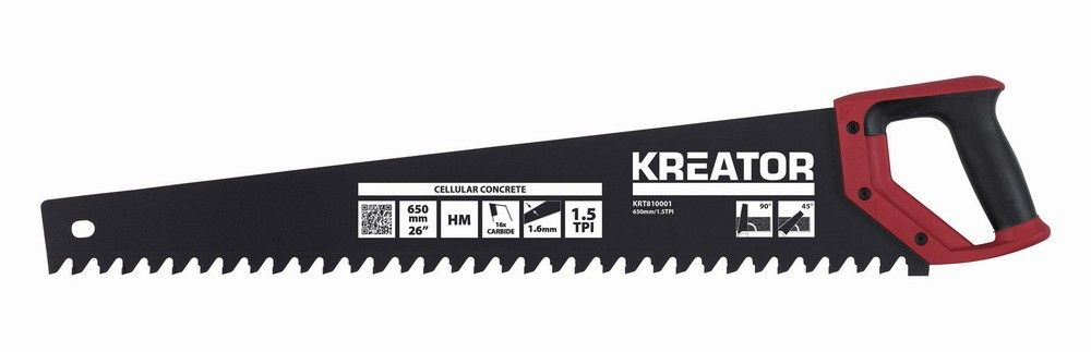 KRT810001 - Pila na porobeton 650mm KREATOR Nářadí-Sklad 1   0
