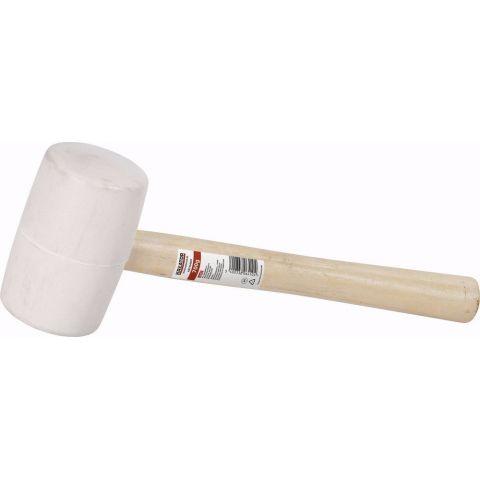 KRT904004 Gumová palice bílá 450g - Dřevěná násada KREATOR