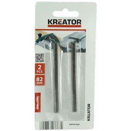KRT991000 2ks náhradních nožů pro hoblíky 82mm KREATOR