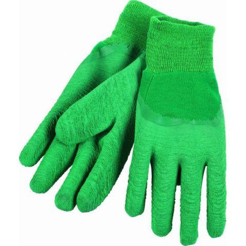 KRTG001M - G Latexové rukavice zelené vel.M (zahradnické) KREATOR
