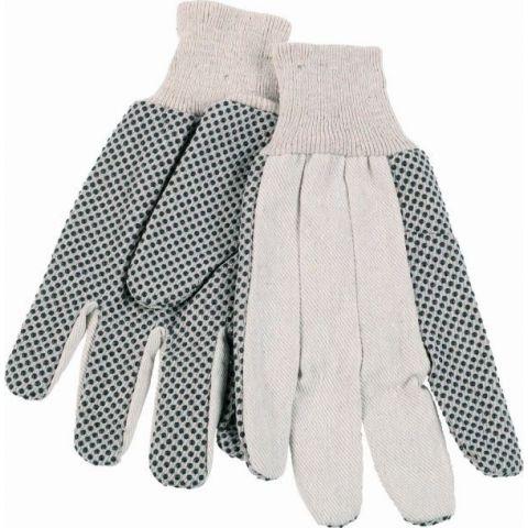 KRTG006XL - G Plátěné rukavice bílé vel. XL (zahradnické) KREATOR