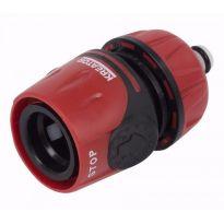 "KRTGR6002 - Rychlospojka na hadice 1/2"" STOP ventil KREATOR"