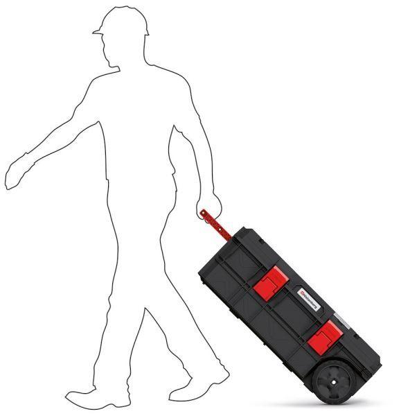 Kufr na nářadí s kolečky X BLOCK TECH černý 795x380x307 KISTENBERG