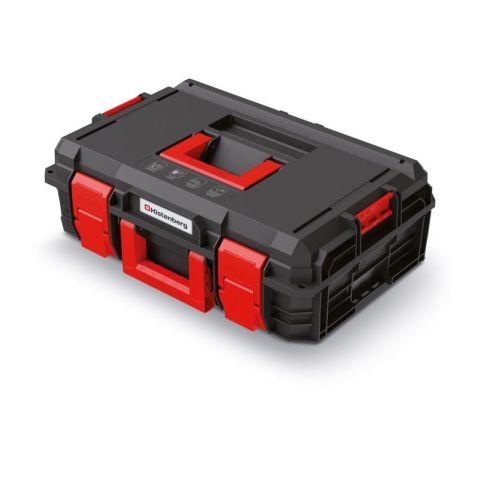 Kufr na nářadí X BLOCK PRO černý 546x380x194 KISTENBERG