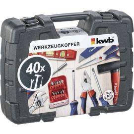 Kufr nářadí 40 dílů KWB