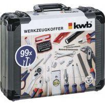 Kufr nářadí 99 dílů KWB