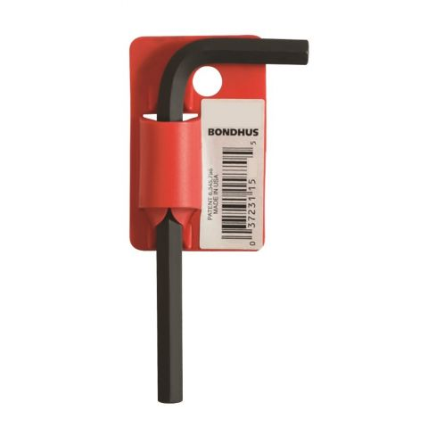 L klíč imbus 4mm krátký HEX Bondhus