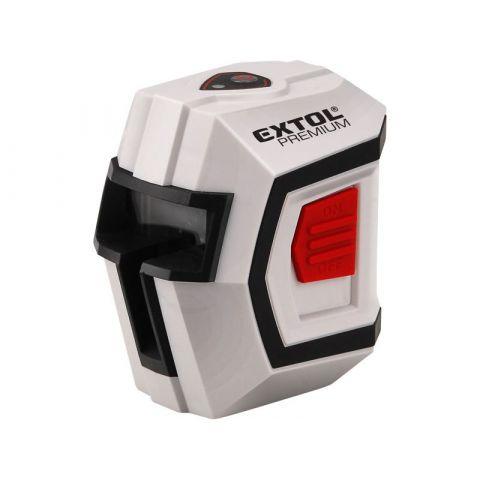 Laser liniový, křížový samonivelační 1H1V EXTOL PREMIUM (8823301)