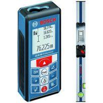 Laserový měřič vzdálenosti GLM80 + lišta R60 BOSCH