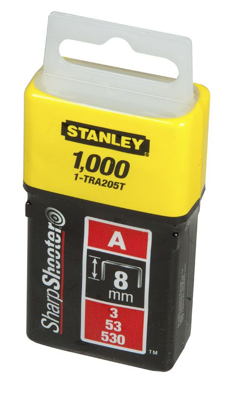 LD Sponky 1000ks, 6mm, typ A 5/53/530 STANLEY 1-TRA204T *HOBY 0Kg 1-TRA204T